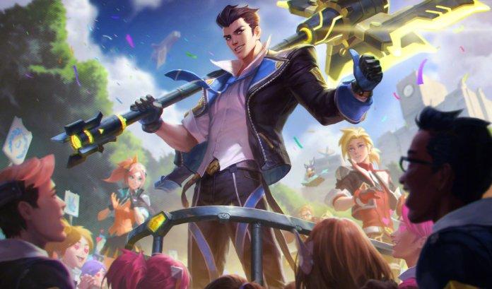 League of Legends - Jayce Academia de Batalha