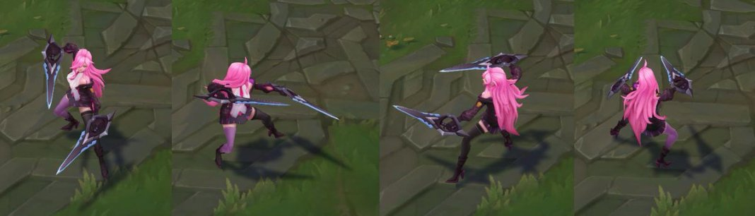 League of Legends - Katarina Academia de Batalha - Nova skin