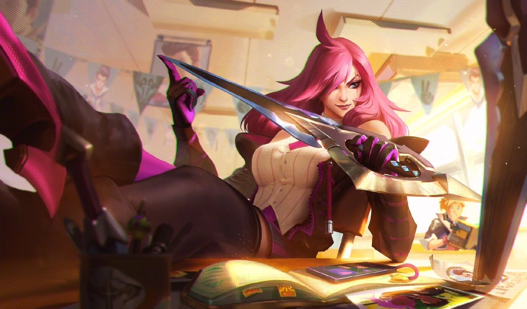 League of Legends - Katarina Academia de Batalha