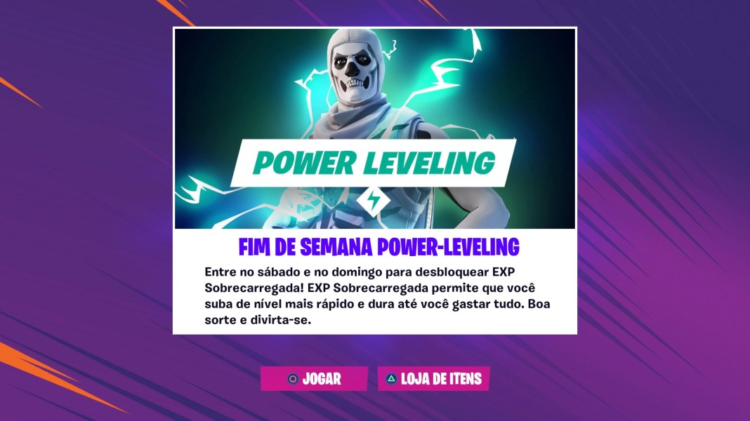 Fortnite - Power Leveling - Sobrecarga de EXP