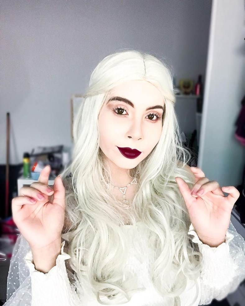 Cosplay da Rainha Branca, de Alice