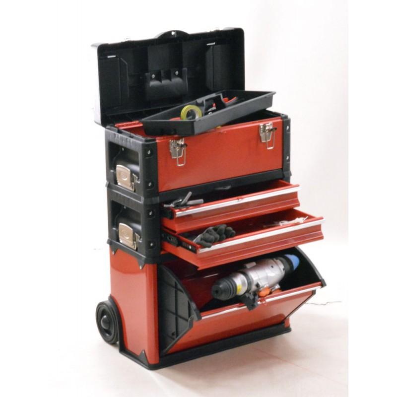 Servante D Atelier Trolley 3 En 1 Brick Cotr3in1 B1