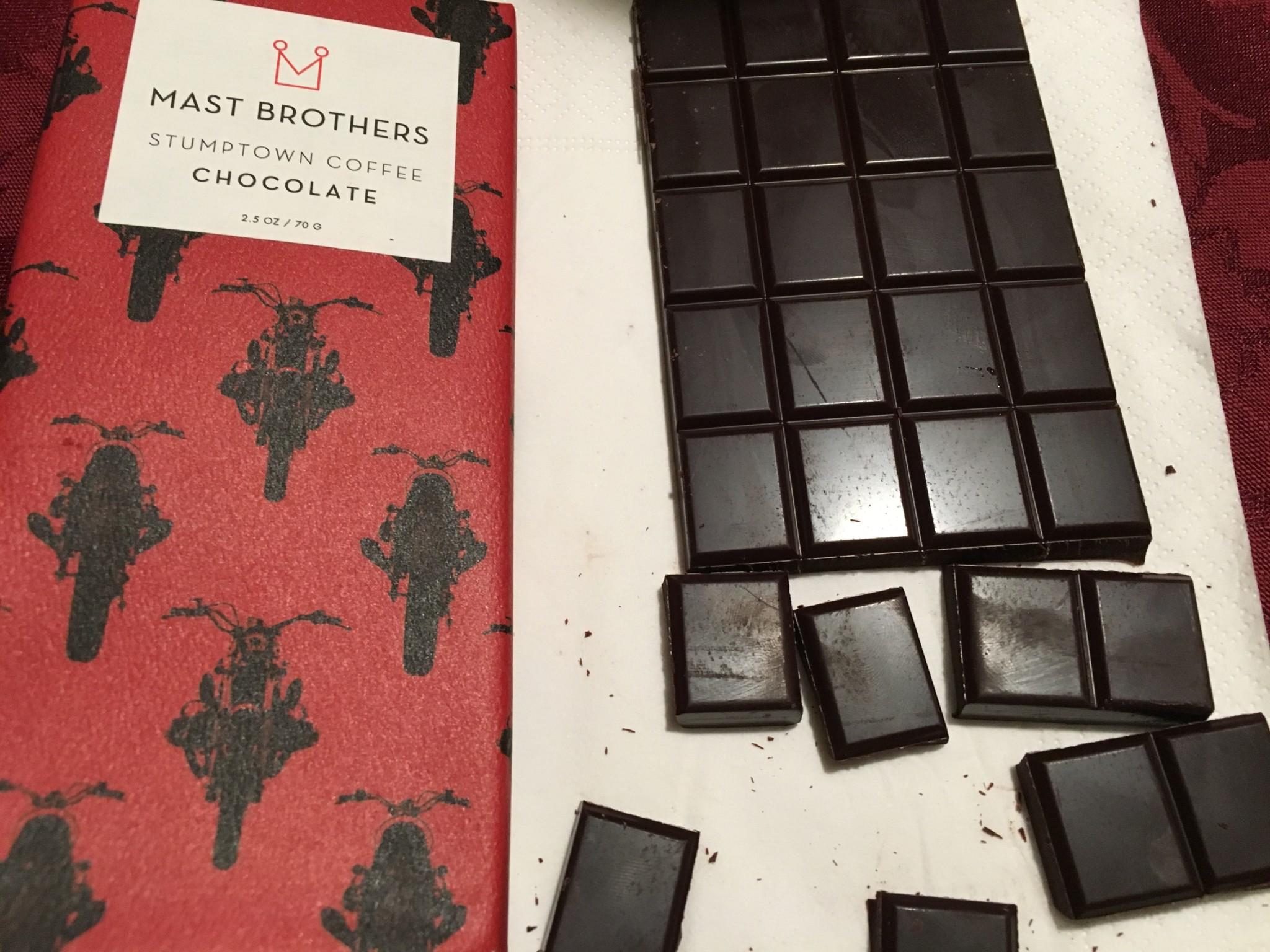 Mast Brothers Stumptown Coffee Chocolate | Selective Elective