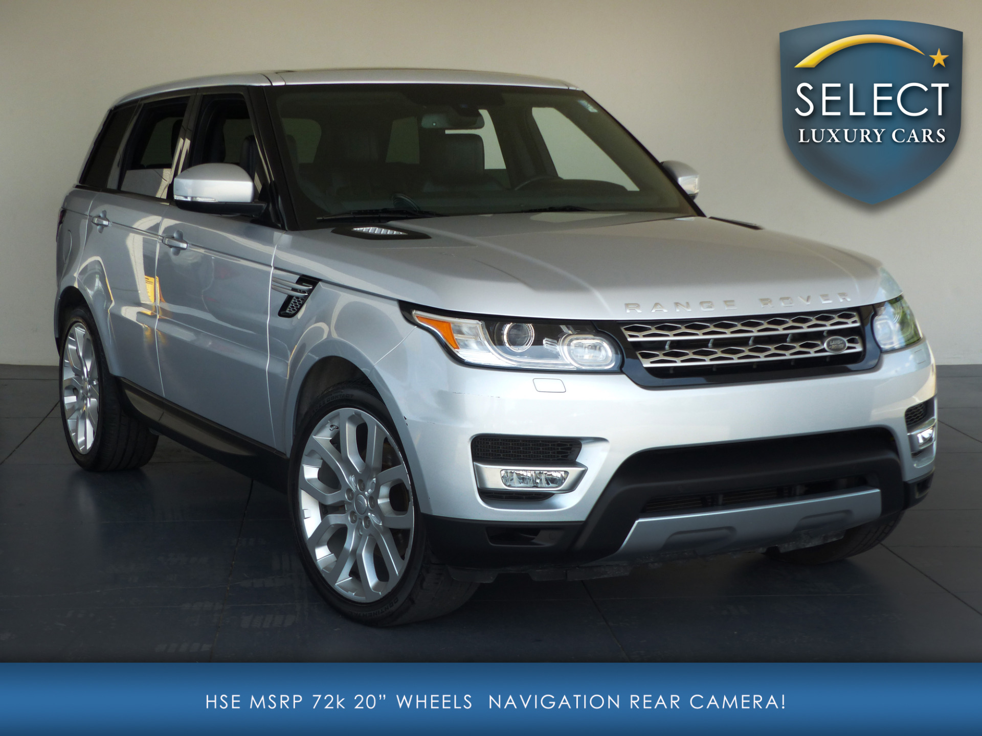 Used 2014 Land Rover Range Rover Sport 3 0L V6 Supercharged HSE