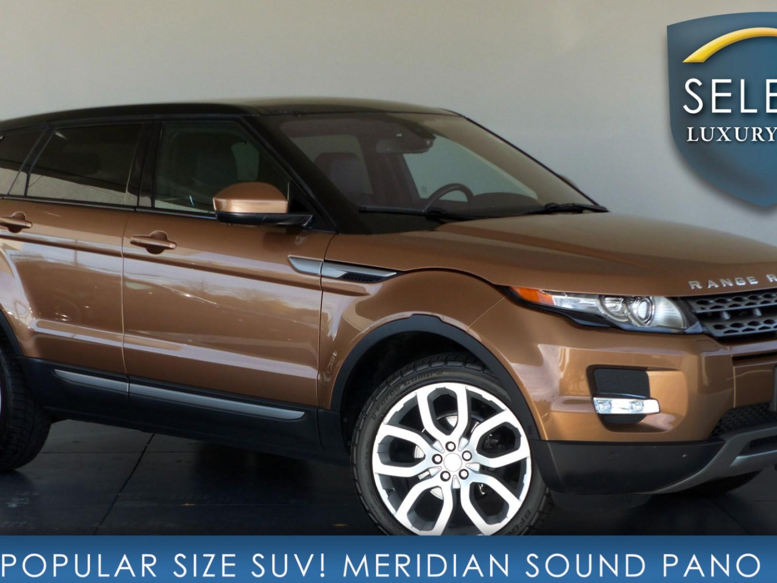 Used 2015 Land Rover Range Rover Evoque Pure