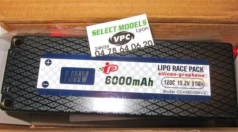 Pack IP 4s 6000 120C 15.2 lihv 5mm