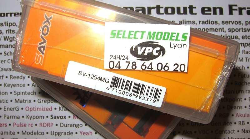 Savox 1254 low profile