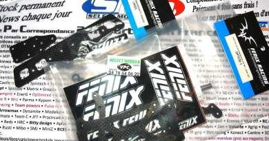 News Fenix pour f1/lmp et x10 en 235mm