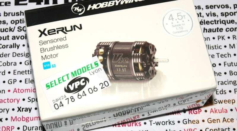 Moteur brushless xerun hw g3v10
