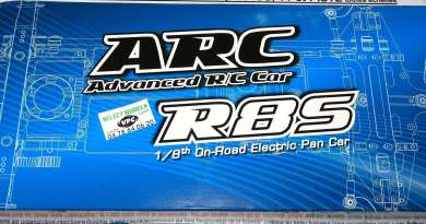 ARC r8s pan car 4*4