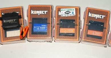 Gamme servos Konect