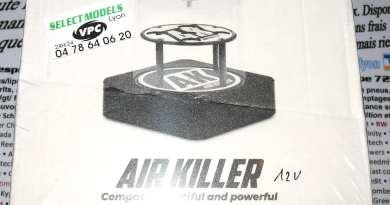 Pompe à vide électrique air killer pour amortisseur et diff