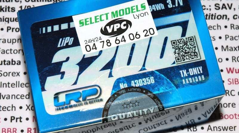 Lipo 1s lrp 3200 pour MT44 Sanwa