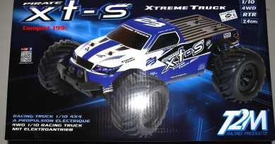 Pirate xts 1/10 électrique T2M
