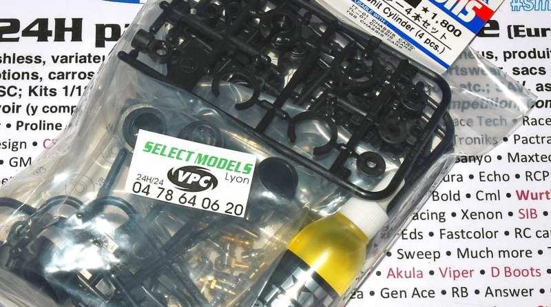 Kit amortisseurs TT-01