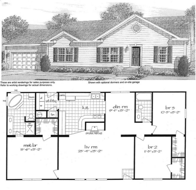 Mobile Home Blueprints 3 Bedrooms Single Wide 71 E910ct 1 073 Sq Ft Floor Plans Lake House Pinterest And Modular