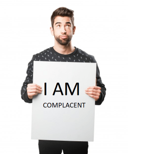 Complacency on the job [A MUST READ]