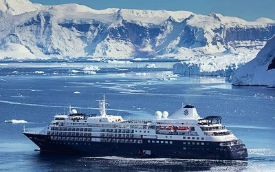 WORLD'S FIRST EXPEDITION WORLD CRUISE