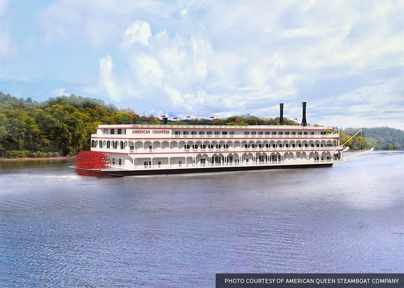 BUILDING A MISSISSIPPI RIVER PADDLEWHEELER