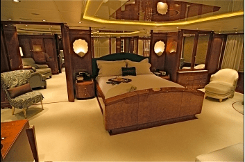 Crewed Charter Megayacht Starfire Master Suite 2 Select