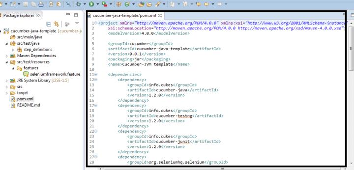 Selenium Framework Sample | lajulak org