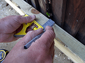 Joists are usually positioned at 400mm centres