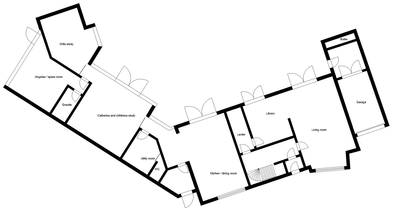 House Plans Renovation And Extension Of A S Home