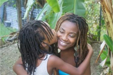 Akilah and daughter