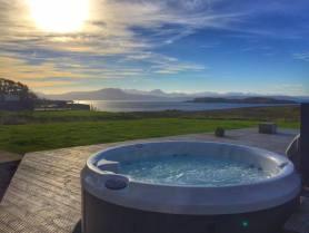 Locholly Lodge Hot Tub