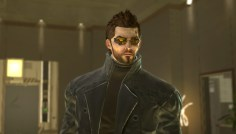 Adam Jensen in Deus Ex: Human Revolution