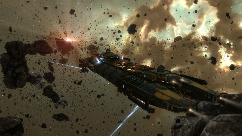 Retriever mining barge in Eve Online