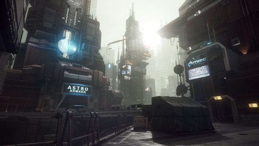 Area 18 in Star Citizen