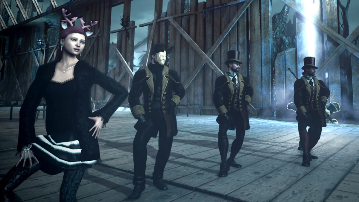 Wearing Wassailer outfits in Niflheim and dancing Single Ladies in The Secret World