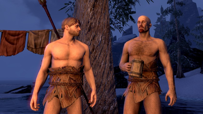Nordic bathing suits in The Elder Scrolls Online