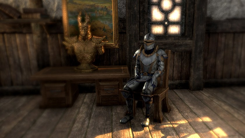 Sitting on a chair in The Elder Scrolls Online