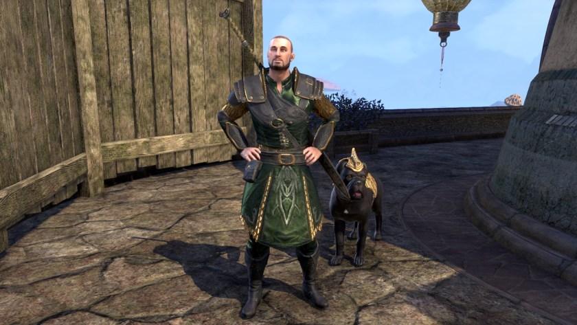 Ulfmund the Warden in The Elder Scrolls Online: Morrowind