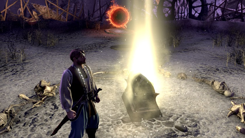 Reward chest at the end of Veteran Maelstrom Arena in The Elder Scrolls Online.