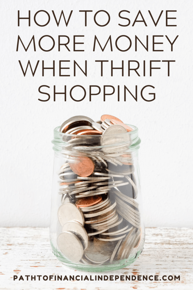 How to save more money when thrift shopping