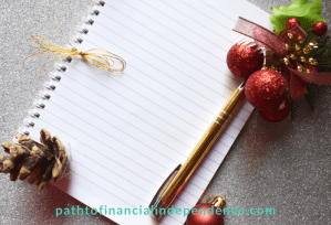 Budgeting for Christmas with a plan