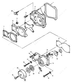 Mercury Force 85 HP 1989 LDrive, Fuel Pump  parts catalog