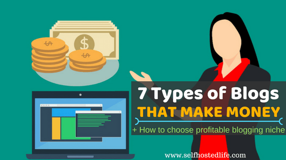 7 Types of Blogs that Make Money | How to Choose Blog Niche