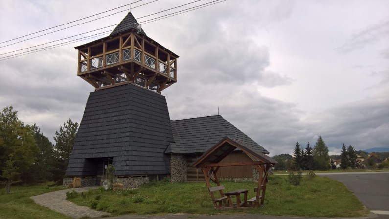 Vavrišovo lookout tower with the Battle of Vavrišov Museum