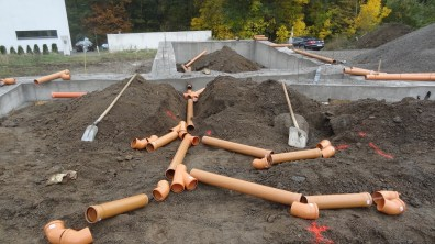 Hrubé položení potrubí