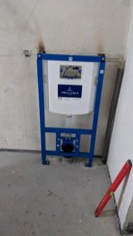 Montáž podomítkové nádrže k WC