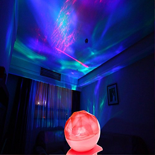color changing led night light lamp led light projector aurora rh selfimprovementbox com Baby Night Light Projector Starry Night Projector Light