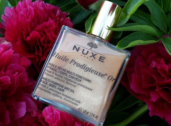 Suchý olej NUXE Huile Prodigieuse Or Multi Purpose Dry Oil