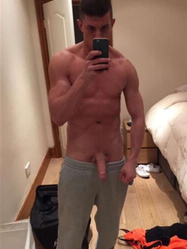 Shirtless Stud With A Very Nice Dick