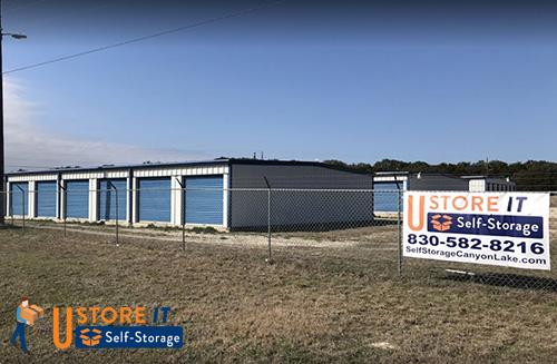 Image of U Store IT Self Storage taken from Highway FM306 Canyon Lake, TX
