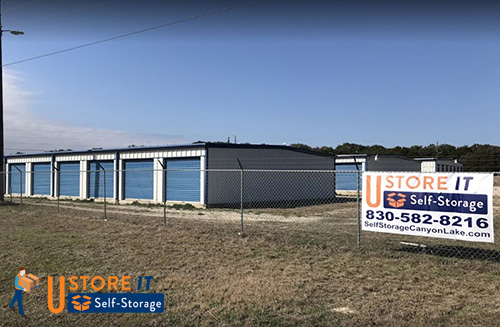 Image of U Store IT Self Storage taken from Highway FM306 Canyon Lake, TX