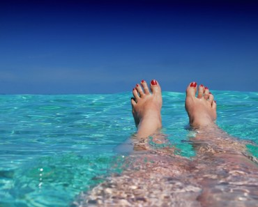 Legs in the Ocean